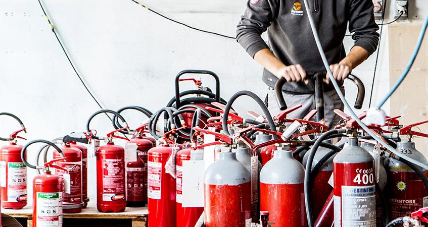 offerta di lavoro manutenzione antincendio
