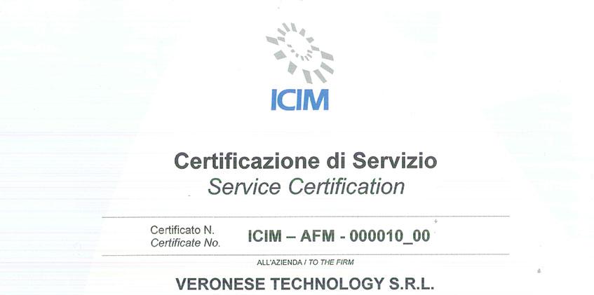certificazione manutenzione antincendio veronetech